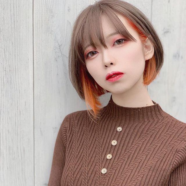 colorオススメ季節の変わり目カラー。富里・成田の美容室
