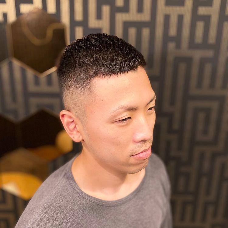 海外のトレンドメンズヘア【クロップスタイル】
