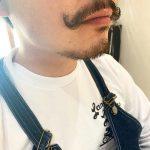 ワンランク上の男のたしなみ!【ヒゲパーマ×カイゼル髭】